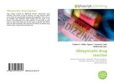 Couverture de Idiosyncratic drug reaction