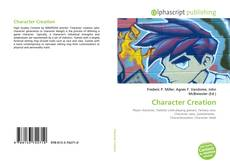 Bookcover of Character Creation