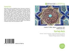 Bookcover of Sartaj Aziz
