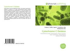 Обложка Cytochrome C Oxidase