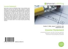 Buchcover von Income Statement