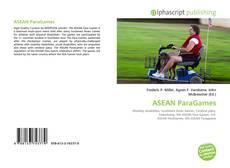 Bookcover of ASEAN ParaGames