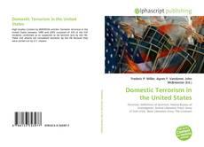 Couverture de Domestic Terrorism in the United States