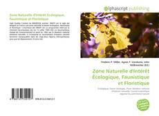 Bookcover of Zone Naturelle d'Intérêt Écologique, Faunistique et Floristique