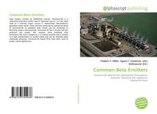 Bookcover of Common Beta Emitters