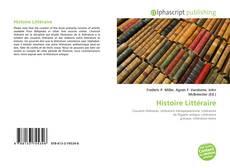 Couverture de Histoire Littéraire