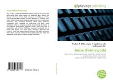 Bookcover of Joose (Framework)