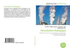 Bookcover of Perturbation Écologique
