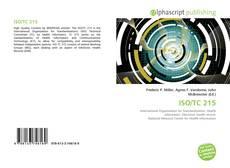 Buchcover von ISO/TC 215
