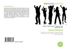 Portada del libro de Kazuo Nakano
