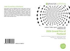 Borítókép a  2006 Grand Prix of Portland - hoz