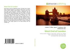 Bookcover of West End of London