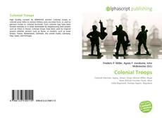 Copertina di Colonial Troops