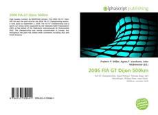 Обложка 2006 FIA GT Dijon 500km