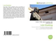 Bookcover of Luke Wadding