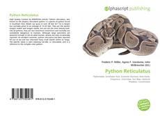 Bookcover of Python Reticulatus