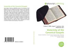 Capa do livro de Historicity of the Canonical Gospels