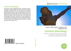 Bookcover of Christian Soteriology