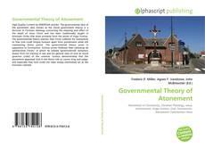 Capa do livro de Governmental Theory of Atonement