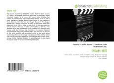 Matt Hill kitap kapağı