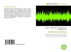 Bookcover of Continuous Wave