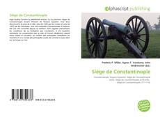 Bookcover of Siège de Constantinople