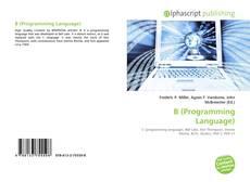 Capa do livro de B (Programming Language)