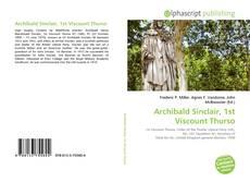 Buchcover von Archibald Sinclair, 1st Viscount Thurso