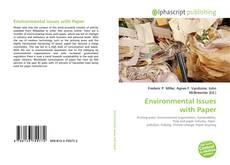 Bookcover of Environmental Issues with Paper