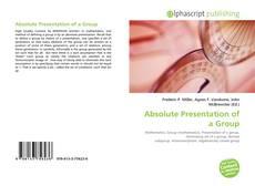Absolute Presentation of a Group kitap kapağı