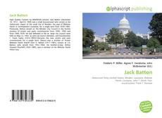 Bookcover of Jack Batton