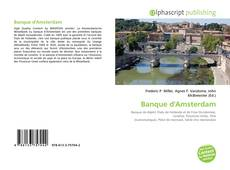 Bookcover of Banque d'Amsterdam