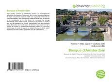 Capa do livro de Banque d'Amsterdam