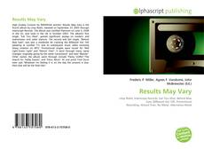 Bookcover of Results May Vary