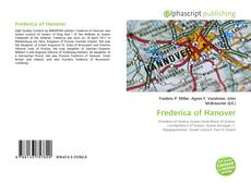 Bookcover of Frederica of Hanover