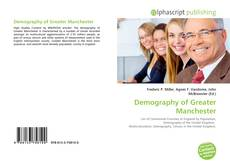 Bookcover of Demography of Greater Manchester