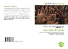 Bookcover of Assembly of Experts