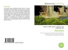 Capa do livro de Horsham