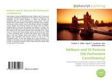 Bookcover of Holborn and St Pancras (UK Parliament Constituency)