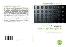 Capa do livro de 2006 Dodge Charger 500