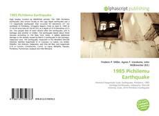 Bookcover of 1985 Pichilemu Earthquake