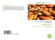 Bookcover of Acrylonitrile