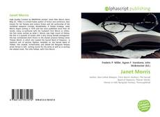 Bookcover of Janet Morris