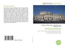 Portada del libro de Christina Nilsson