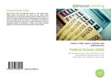 Capa do livro de Federal Grants (USA)