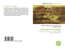 Bookcover of Abundance (Ecology)