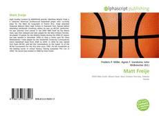 Matt Freije kitap kapağı
