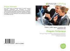 Borítókép a  Progrès Technique - hoz