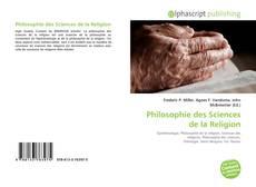 Bookcover of Philosophie des Sciences de la Religion