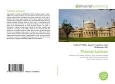 Capa do livro de Thomas Lainson